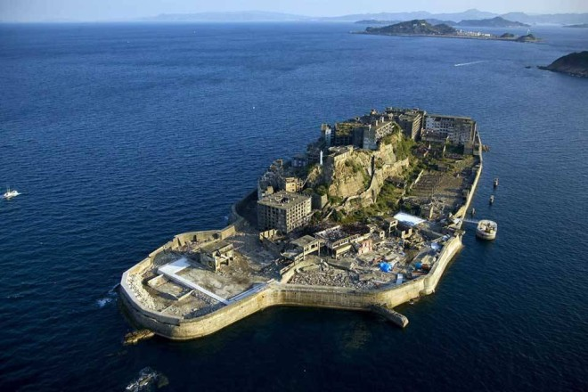 Hashima Island in Japan - most unique islands in the world