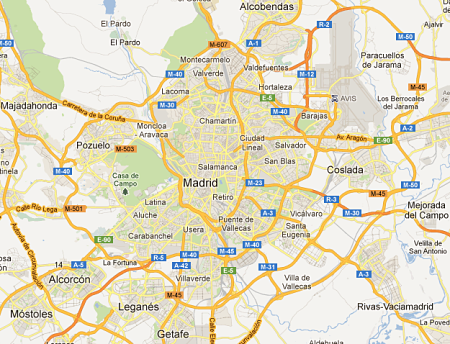 madrid-spain-map - YourTripTo