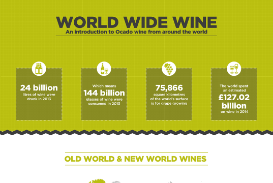 Red Wine Infographic Ocado