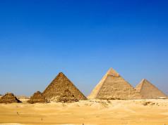 The Giza Necropolis - Cairo, Egypt