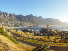 Traveling through South Africa by Bus